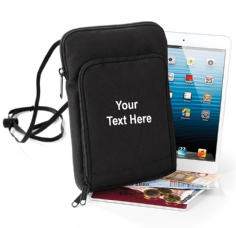 Personalised Travel Wallet/ Tablet Case XL by Bagbase BG48